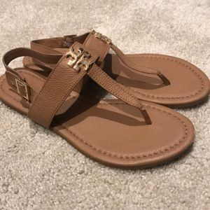 Tory Burch Sandals Worn Once - Leather